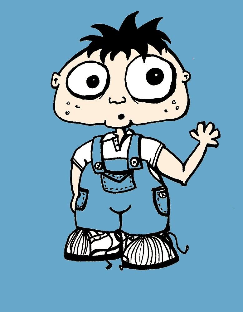 Hello Little Boy by MissyCartoons