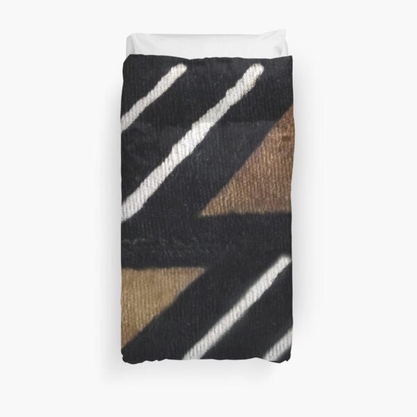African Mudcloth Duvet Cover