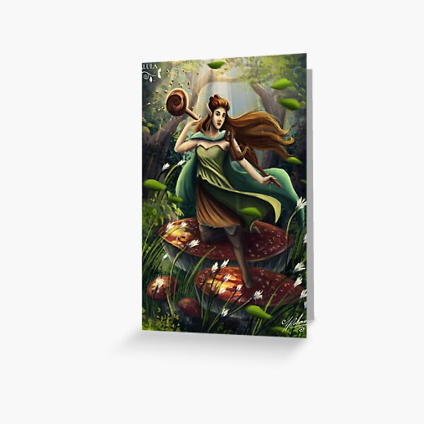 Alula in the forest Greeting Card