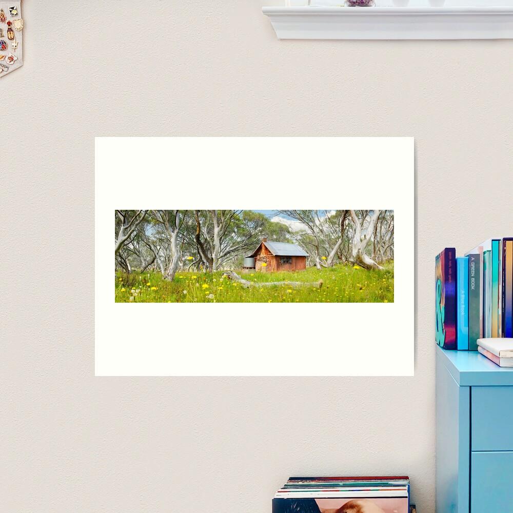 JB Plain Hut, Mt Hotham, Victoria, Australia Art Print