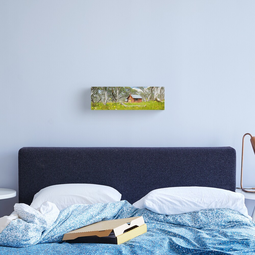 JB Plain Hut, Mt Hotham, Victoria, Australia Canvas Print