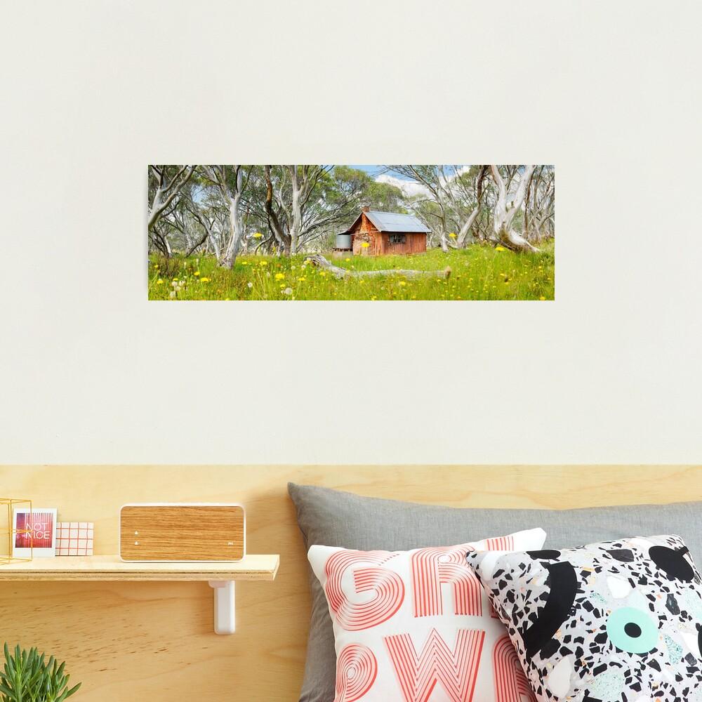 JB Plain Hut, Mt Hotham, Victoria, Australia Photographic Print