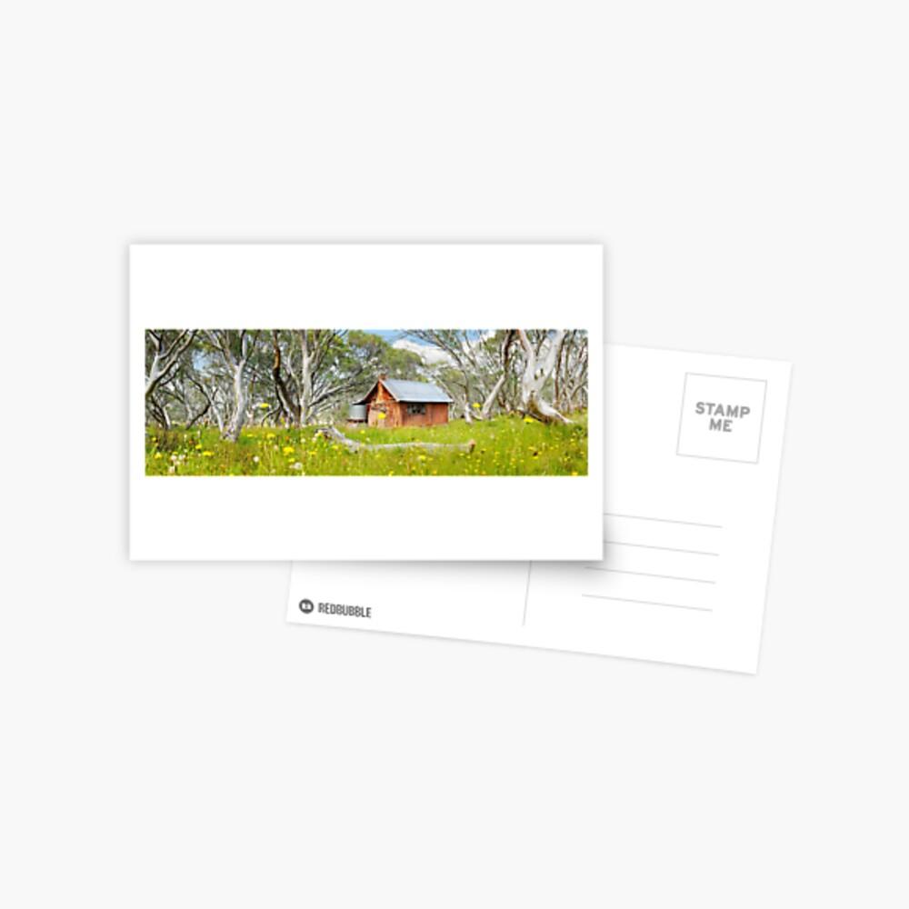 JB Plain Hut, Mt Hotham, Victoria, Australia Postcard