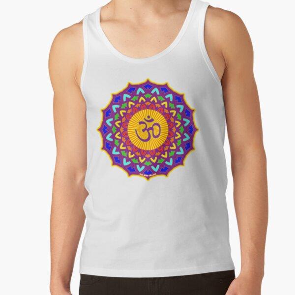 7th Chakra Mandala Yoga Om Tank Top