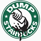 Respect Our Law Officers DUMP Starbucks  by IconicTee