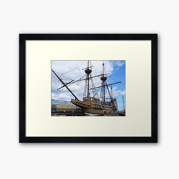 Mayflower II Framed Art Print
