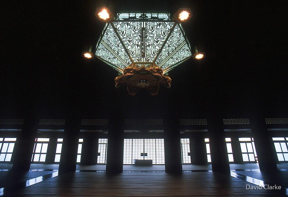 Goeido Hall, Nishi Honganji Temple, Kyoto, Japan by David Clarke