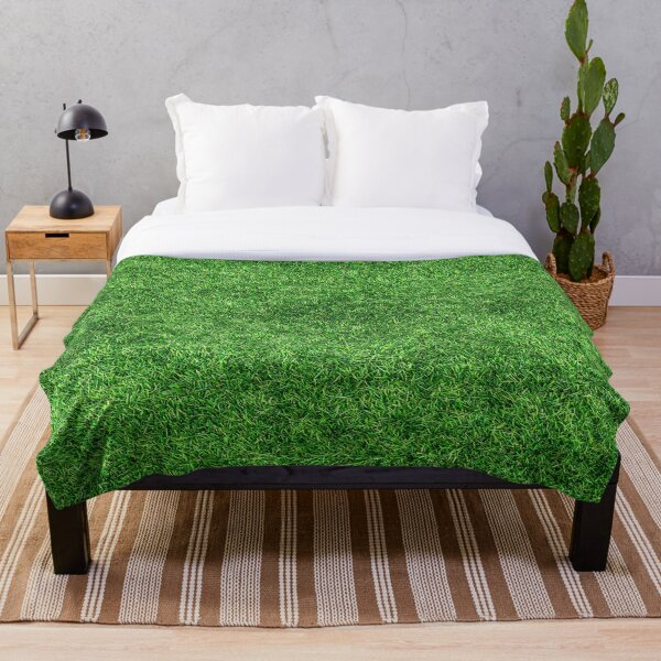 COOL !!!! GRASS BLANKET !!!! Throw Blanket