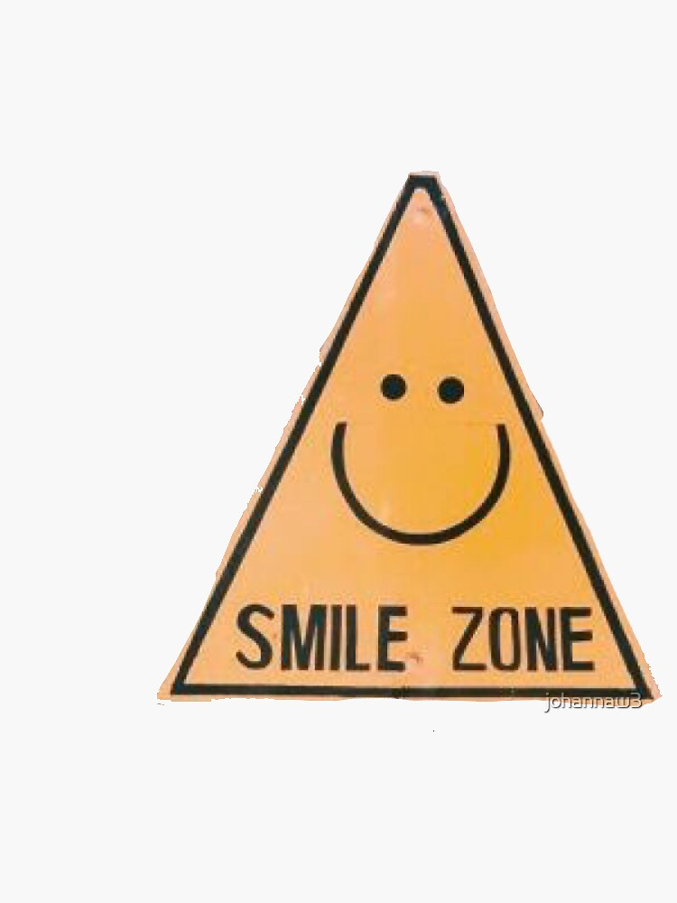 smile zone sign by johannaw3