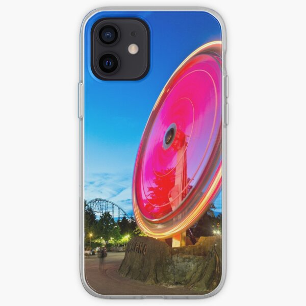 The Volcano Light Trails iPhone Soft Case
