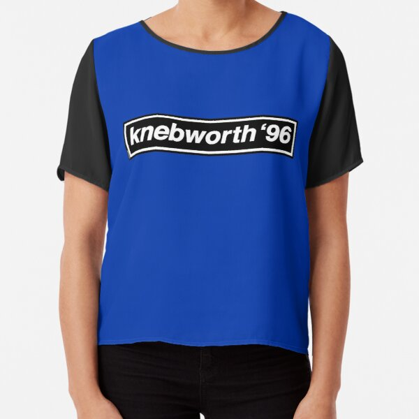 Knebworth '96 - OASIS Band Tribute Chiffon Top