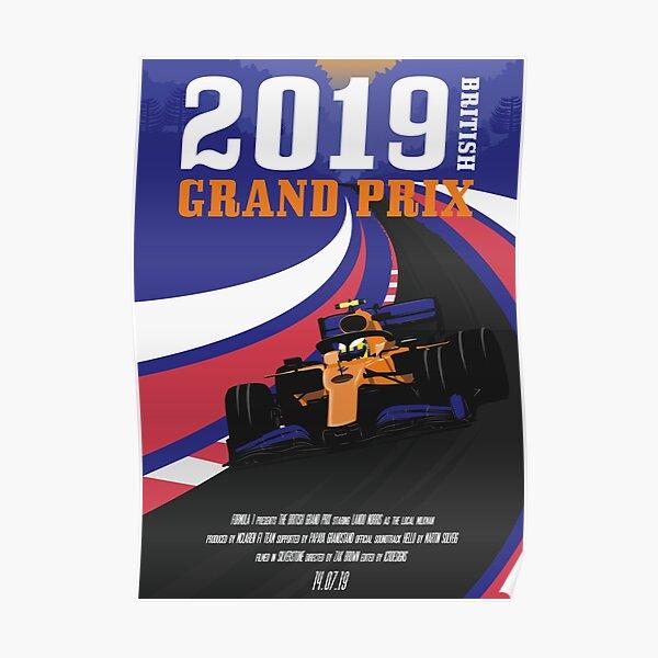 GP DE GRAN BRETAÑA 2019 Póster