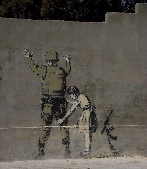 Banksy - The West Bank by Shannon Friel