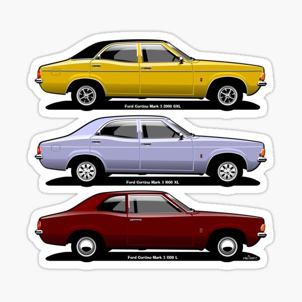 Ford Cortina mark 3 Sticker