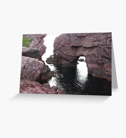 The Arch Hole Greeting Card