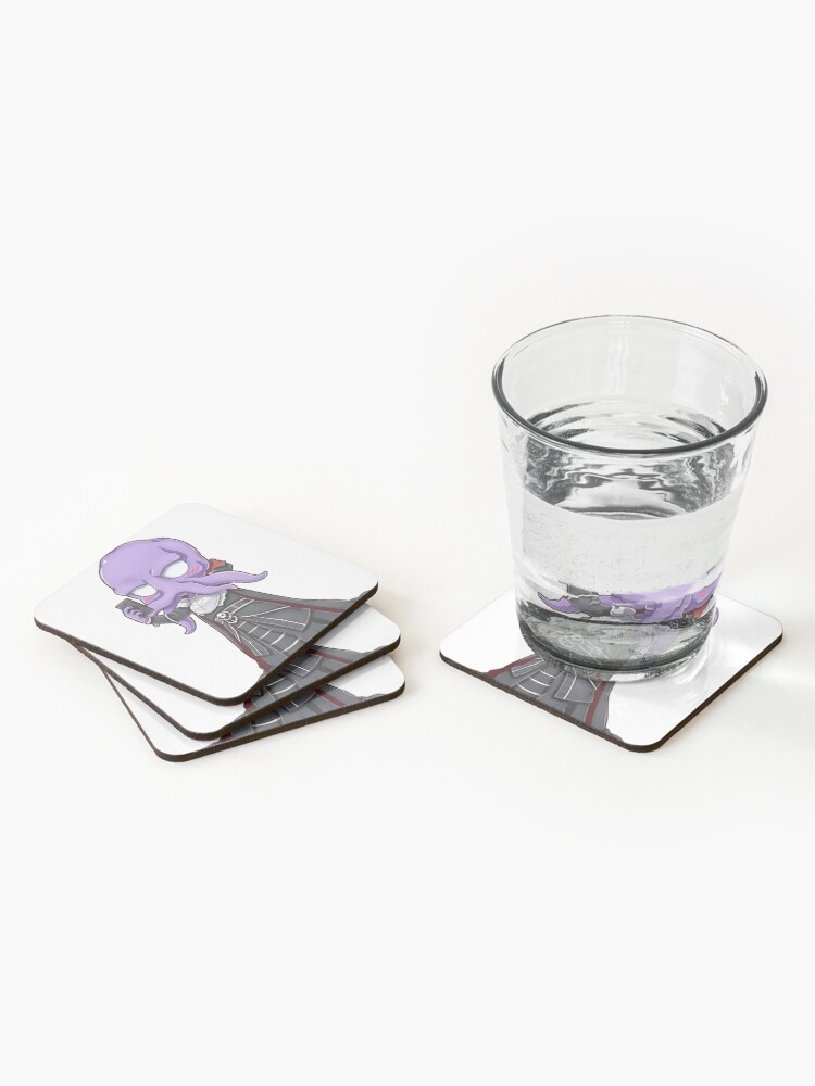 Alternate view of Snaps from Mind Flayer Coasters (Set of 4)