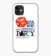 The Incorrigible Party rolls 20s iPhone Case