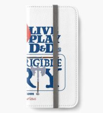 The Incorrigible Party rolls 20s iPhone Wallet/Case/Skin