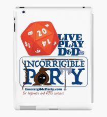 The Incorrigible Party rolls 20s iPad Case/Skin