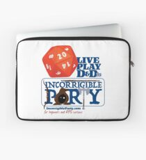 The Incorrigible Party rolls 20s Laptop Sleeve