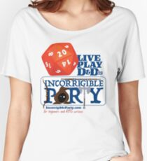The Incorrigible Party rolls 20s Relaxed Fit T-Shirt