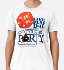 The Incorrigible Party rolls 20s Premium T-Shirt