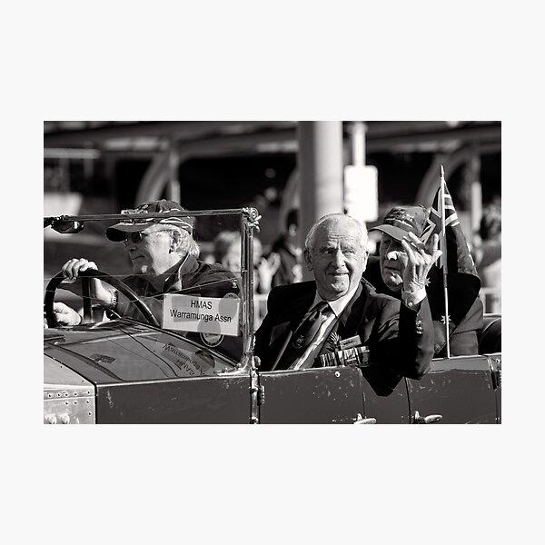 Melbourne ANZAC day parade 2013 - 01 Photographic Print