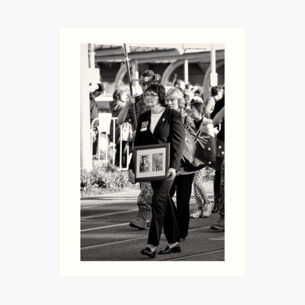 Melbourne ANZAC day parade 2013 - 05 Art Print