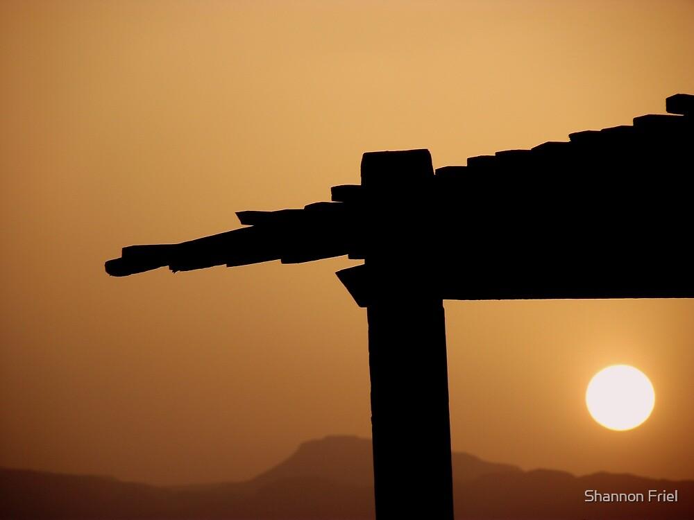 Red Sea Sunset, Jordan by Shannon Friel