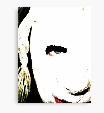 Jane 1 Canvas Print