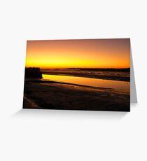 Irish Sundown - Tralee, County Kerry, Eire Greeting Card
