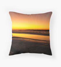 Irish Sundown - Tralee, County Kerry, Eire Throw Pillow