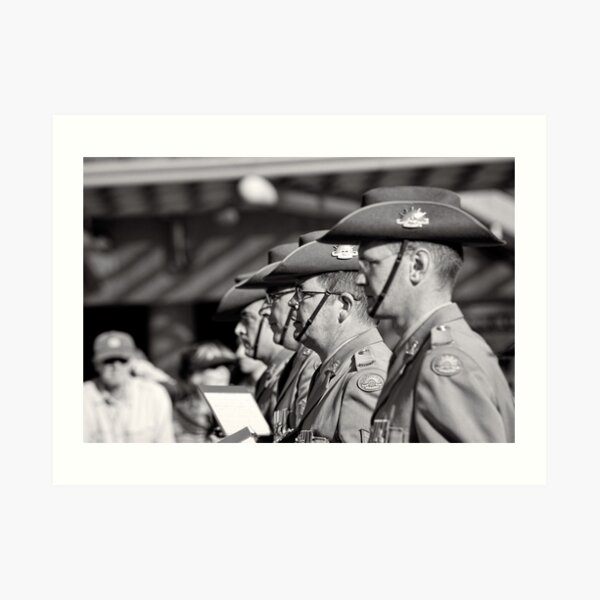 Melbourne ANZAC day parade 2013 - 13 Art Print