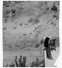 Muslim Woman, Petra Jordan Poster