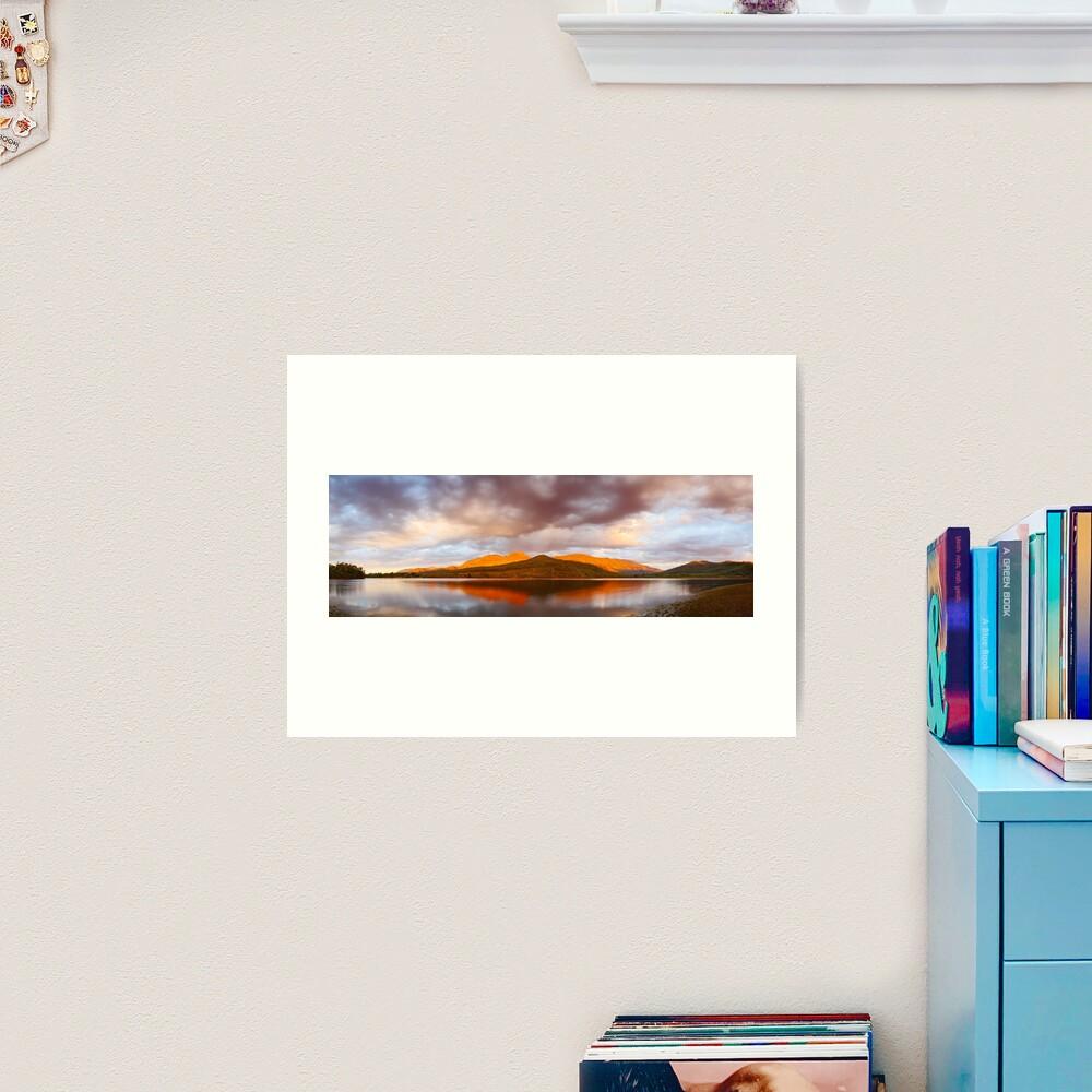 Lake Buffalo Sunset, Victoria, Australia Art Print