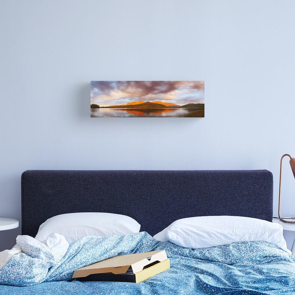 Lake Buffalo Sunset, Victoria, Australia Canvas Print