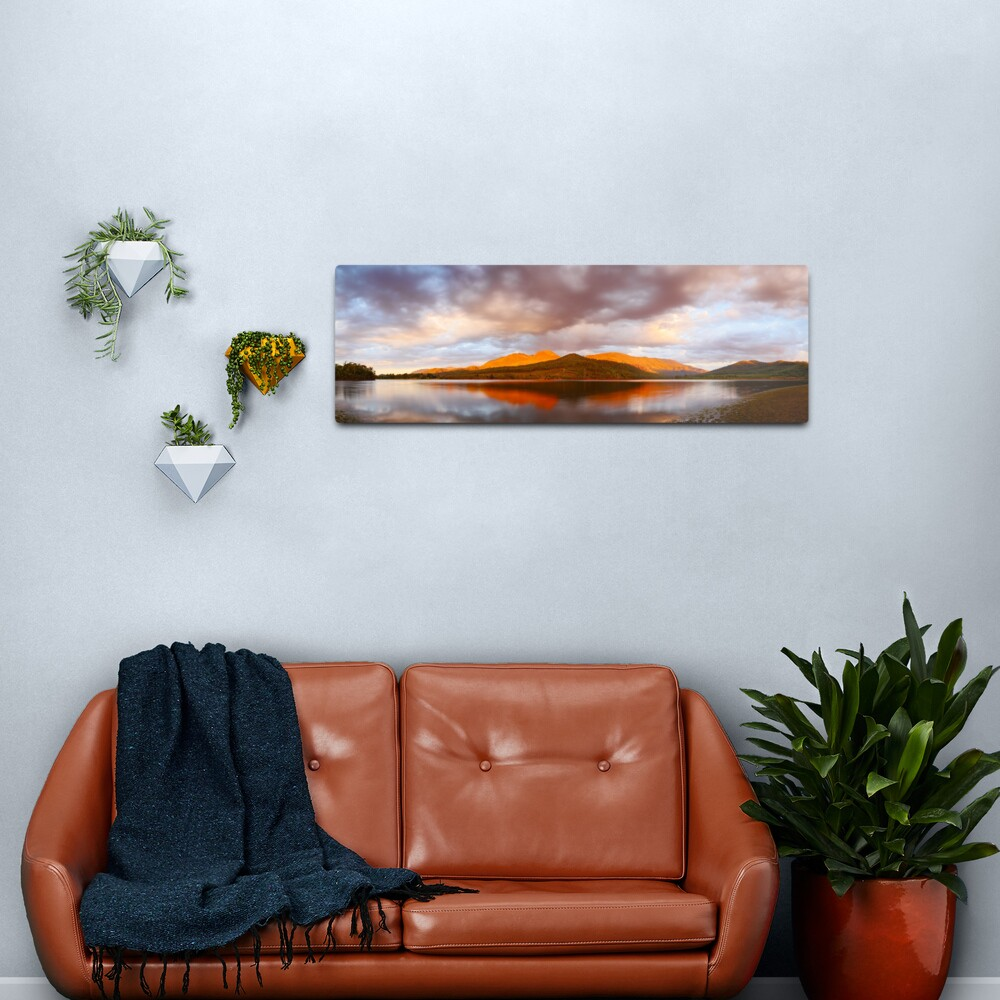 Lake Buffalo Sunset, Victoria, Australia Metal Print
