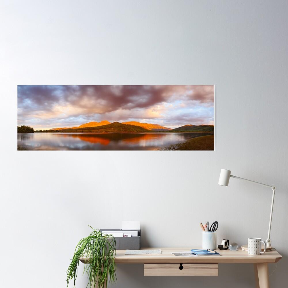 Lake Buffalo Sunset, Victoria, Australia Poster