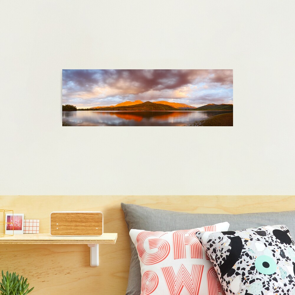 Lake Buffalo Sunset, Victoria, Australia Photographic Print