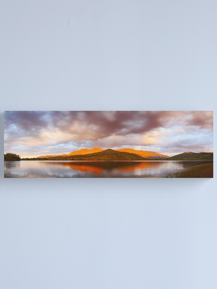 Alternate view of Lake Buffalo Sunset, Victoria, Australia Canvas Print