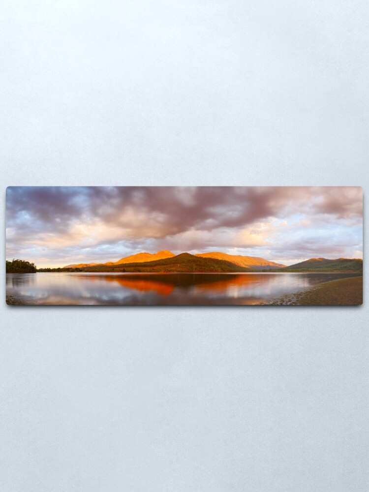 Alternate view of Lake Buffalo Sunset, Victoria, Australia Metal Print