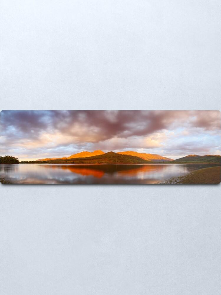 Alternate view of Lake Buffalo Sunset, Victoria, Australia Metal Print