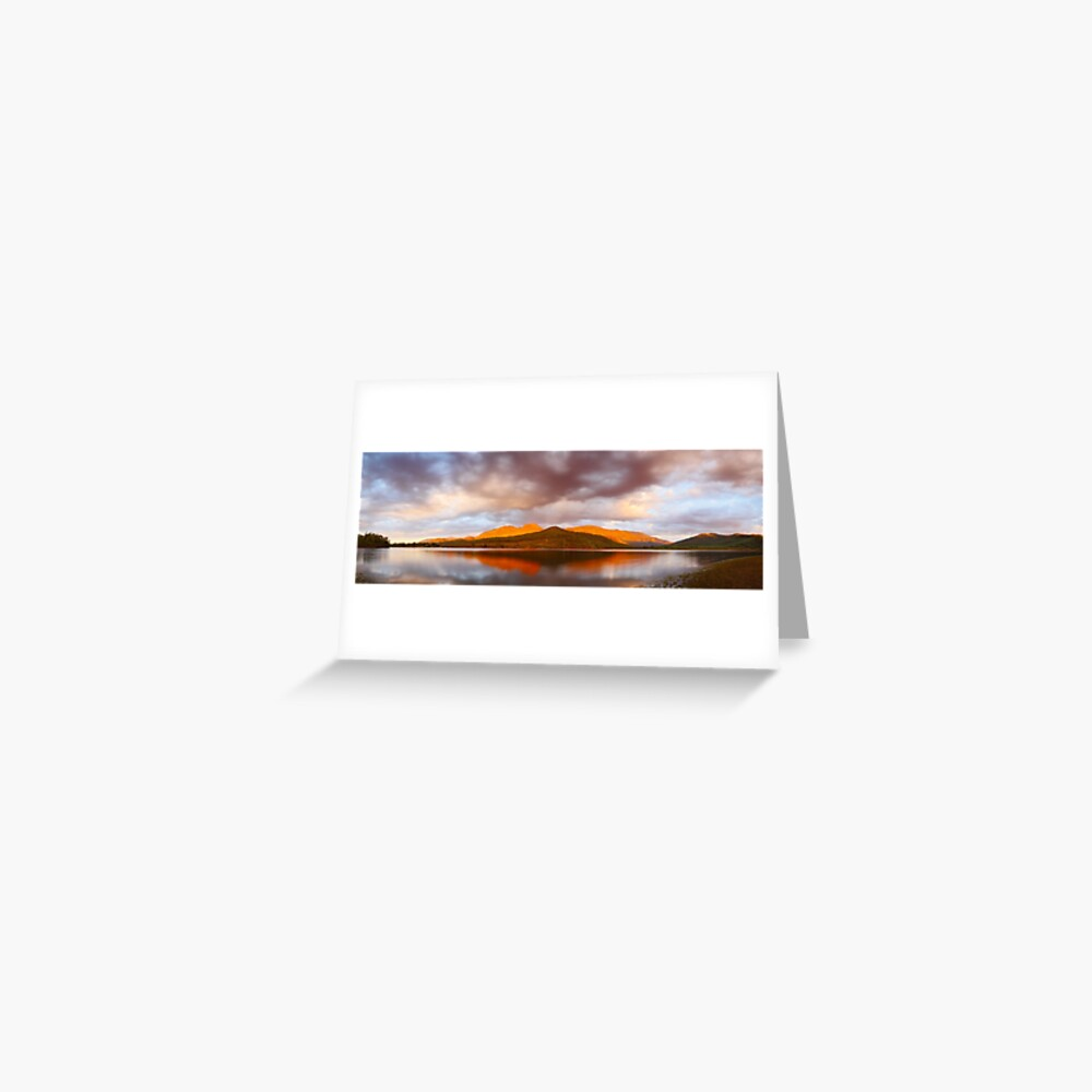 Lake Buffalo Sunset, Victoria, Australia Greeting Card
