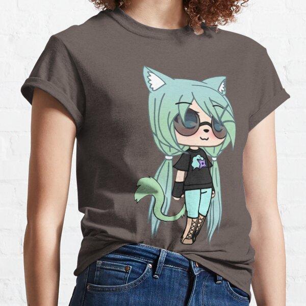 Serie Gacha Life - Chloe the Tomboy Camiseta clásica