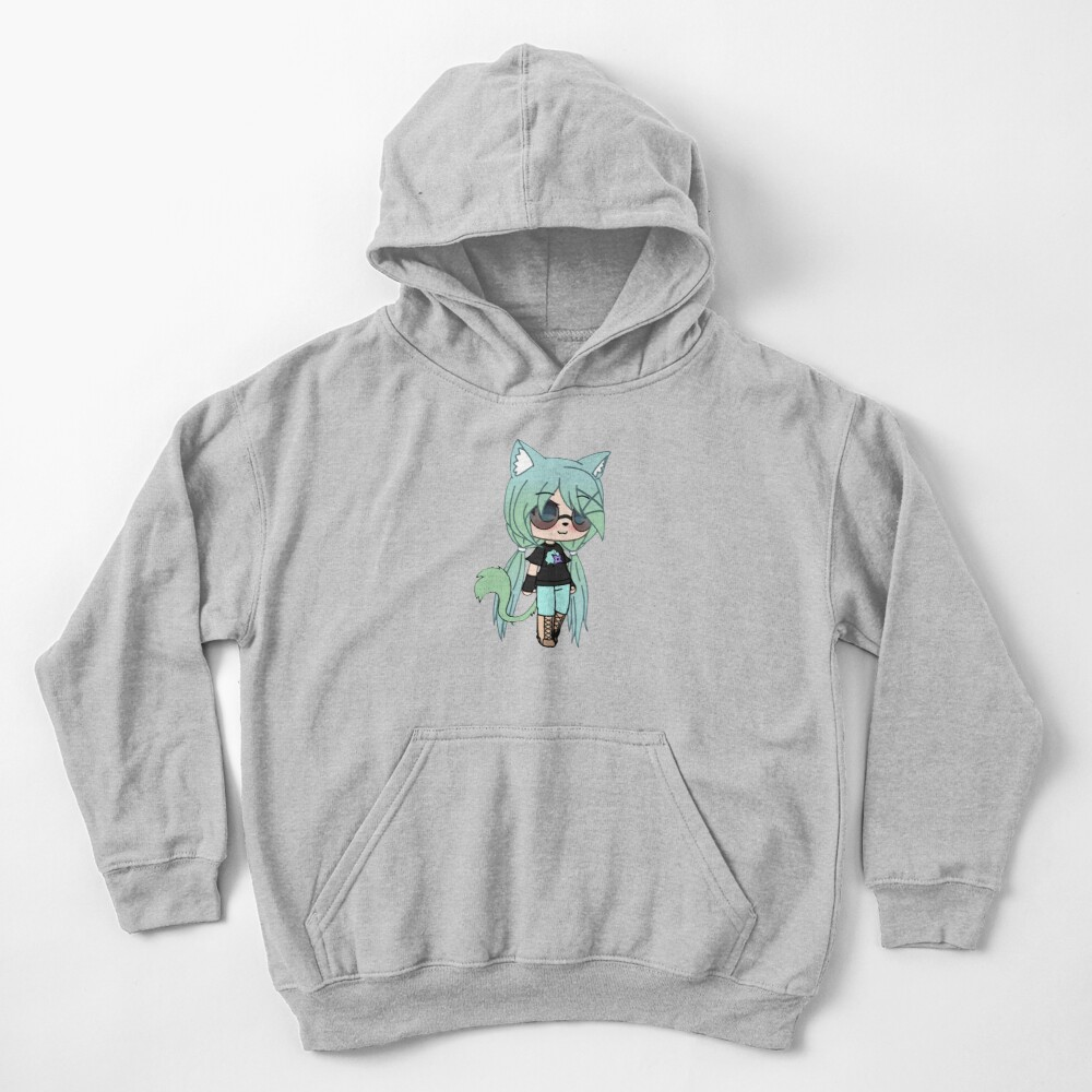 Gacha Life series - Chloe the Tomboy Kids Pullover Hoodie