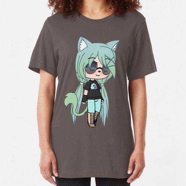 Gacha Life series - Chloe the Tomboy Slim Fit T-Shirt