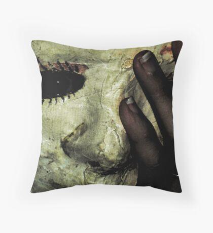 Jane 3 Throw Pillow