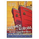 Giant Ships Bremen and Europa...launched 1929 by edsimoneit