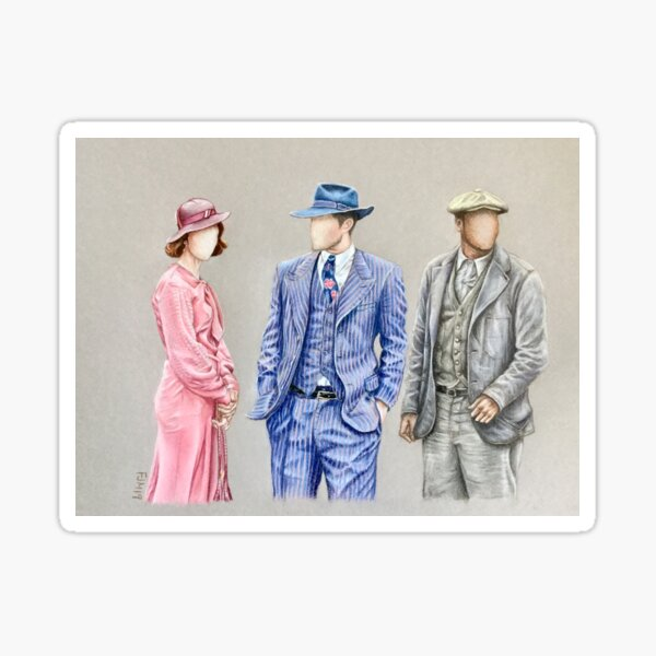 Timeless Costumes : Bonnie & Clyde Sticker