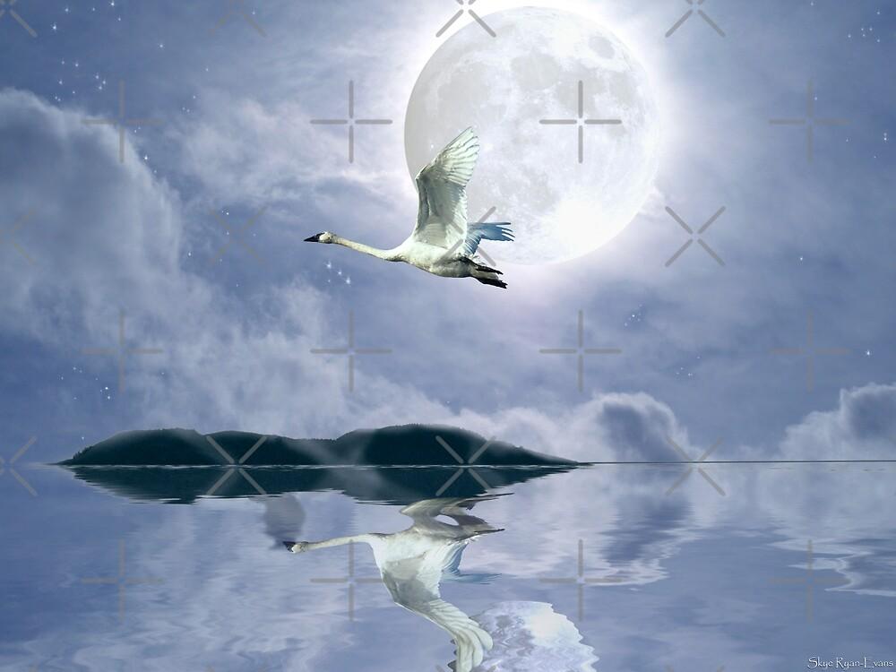 """""""Wilderness Moon"""" by Skye Ryan-Evans"""